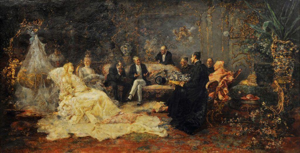 Rafael Sánchez Barbudo (1887), La convaleciente, Museo de Bellas Artes de Argentina