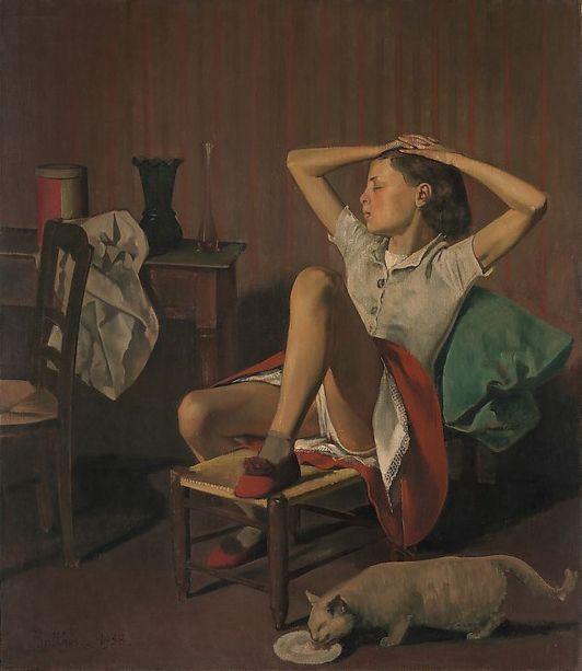 Balthus ( 1936-1939), «Thérèse revant, MET.