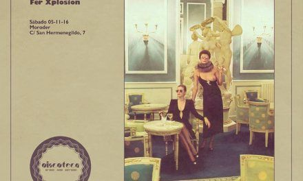 Discoteca x La Colmena con JM Duran. Moroder